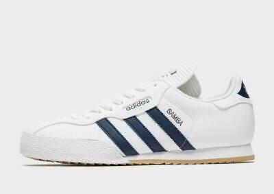 adidas Mens Originals Samba Shoes White