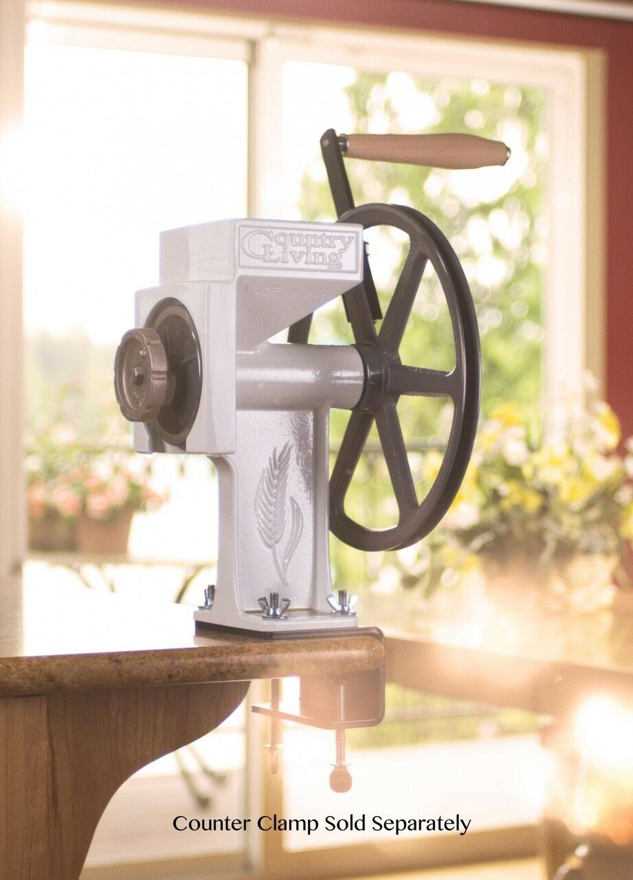 Nouveau Country Living Grain Mill-Manufacturer Lifetime Garantie-Made in USA