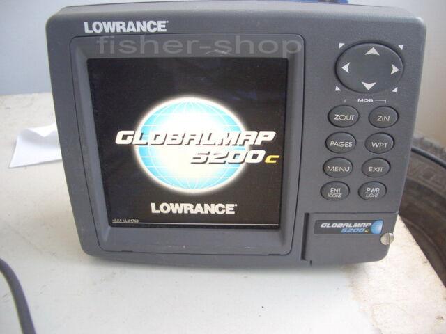 Lowrance GlobalMap 5200C