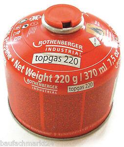 rothenberger top gas 220 g propan butan gemisch