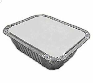 ALUMINIUM-FOIL-FOOD-CONTAINERS-LIDS-x-100-No-1-PERFECT-FOR-HOME-AND-TAKEAWAY-USE