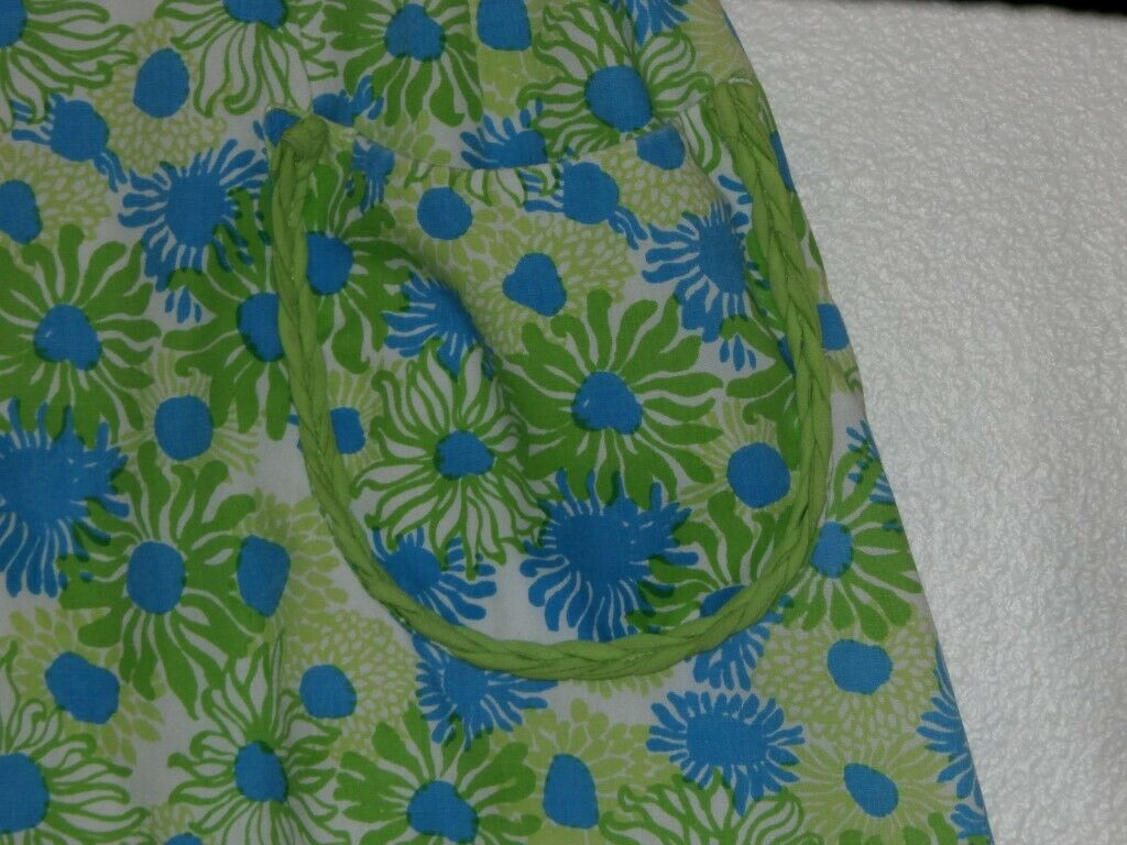 Lilly Pulitzer Vintage Skirt SZ 8 The Lilly Blue … - image 3