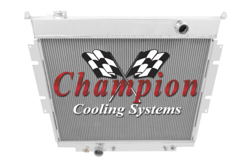 1983-1994 F-Series Pickups with Diesel Engines Champion 3 Row Core Alum Radiator