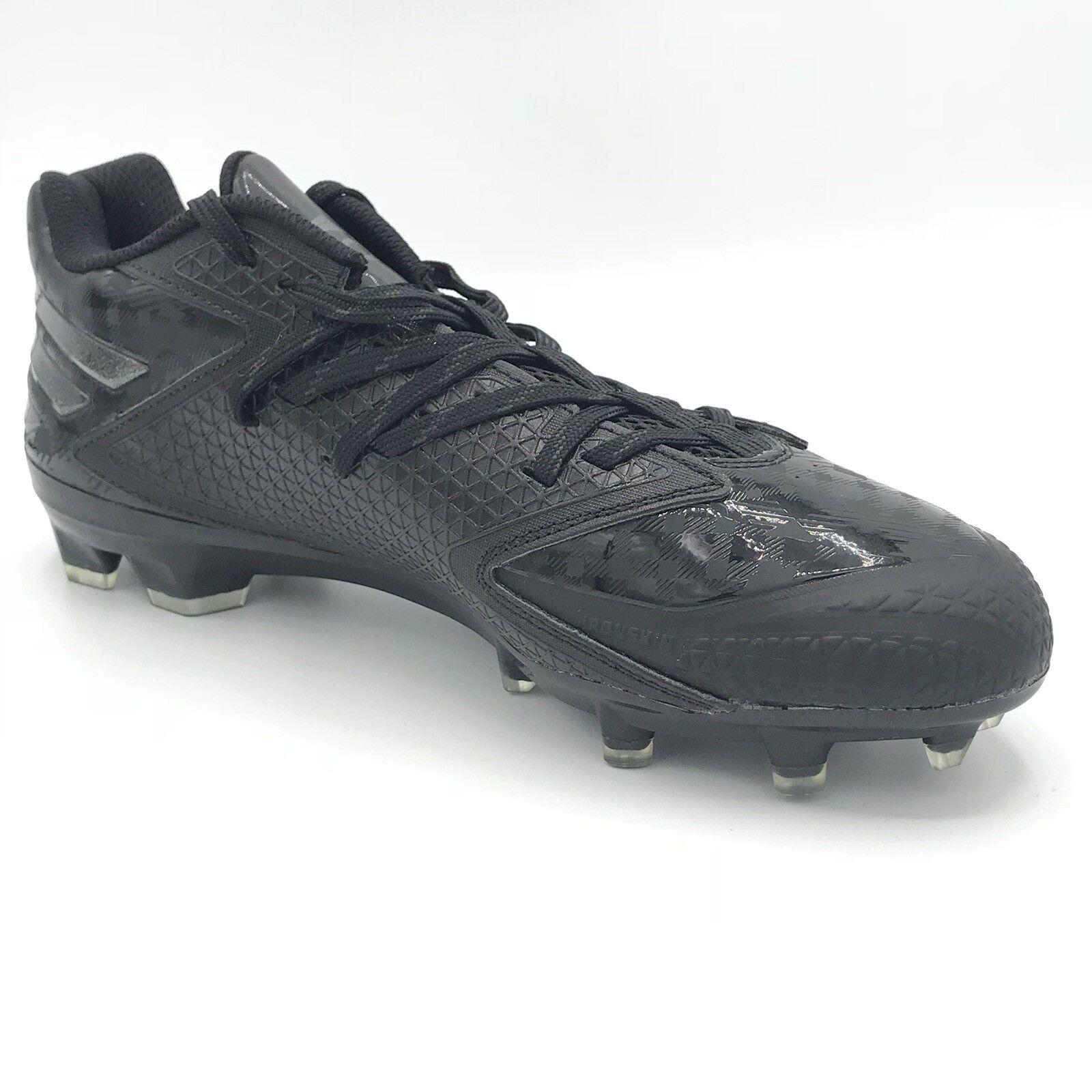 Adidas uomini mostro nero carbonio numero 9 football scarpette arte q16056 | Qualità Affidabile  | Gentiluomo/Signora Scarpa