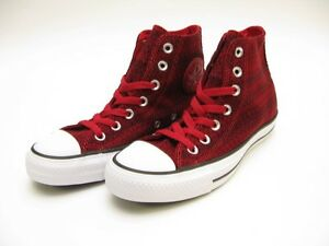 9cd27de03cd5 Image is loading CONVERSE-LADIES-CHUCK-TAYLOR-HI-CHILLI-PEPPER-RED-