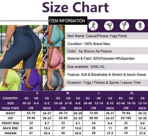 Damen Anti-Cellulite Yoga Set Laufshirt V-Ausschnitt Kurzarm Top Hose Leggings