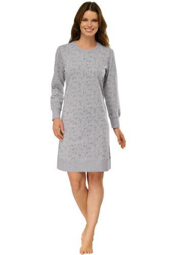 SCHIESSER Damen Nachthemd 90 cm Sleepshirt Langarm 36 38 40 42 44 46 48 50
