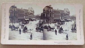 Photographic-Stereo-Card-Royal-Centre-Belfast-Ireland-c1897