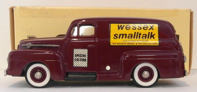 de moda Brooklin 1 43 43 43 Scale BRK42 003  - 1952 Ford F1 Panel Delivery 1 Of 250 Maroon  tienda en linea