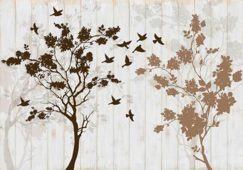 Fauna,Landschaft,Natur Fototapete Wanddeko Wandtattoo 167232FW Bäume  Tiere W
