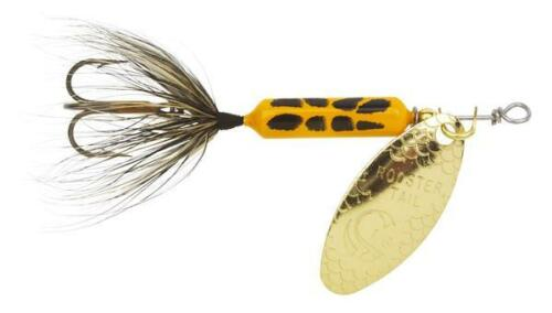 """Worden Original Rooster 1.75/"""" 1//24 oz Tail Spinner with Treble Hook"""