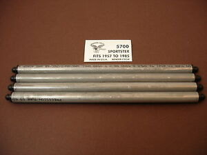 PUSHROD SET SPORTSTER HARLEY IRONHEAD SOLID LIFTER ALUMINUM USA XL XLH XLS XLCR