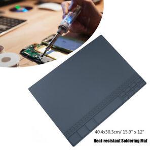 Silicone Heat Resistant Insulation Mat Soldering Welding Pad Soldering Pad Sale