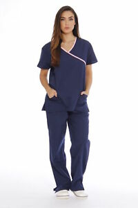 Just-Love-Women-039-s-Scrub-Sets-Medical-Scrubs-Mock-Wrap