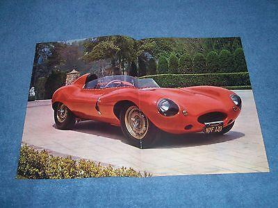 1954 Jaguar D-type Vintage Rennwagen Artikel Mit Color Center Aufstrich Waren Jeder Beschreibung Sind VerfüGbar