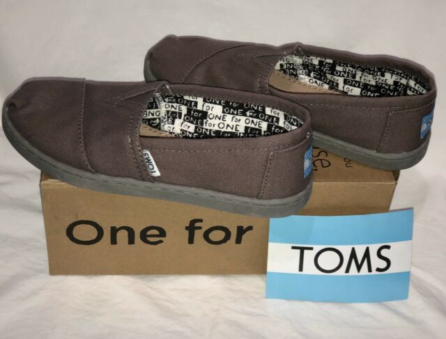 Toms Kids Classic Youth Canvas Size Y12