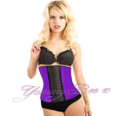 Yummy Bee Waist Training Corset Latex Steel Plus Size  6-24 Slimming Belt Boned