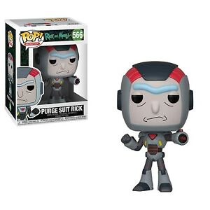 Funko - Pop Animation: Rick & Morty S6: Purge Suit Rick Brand New In Box