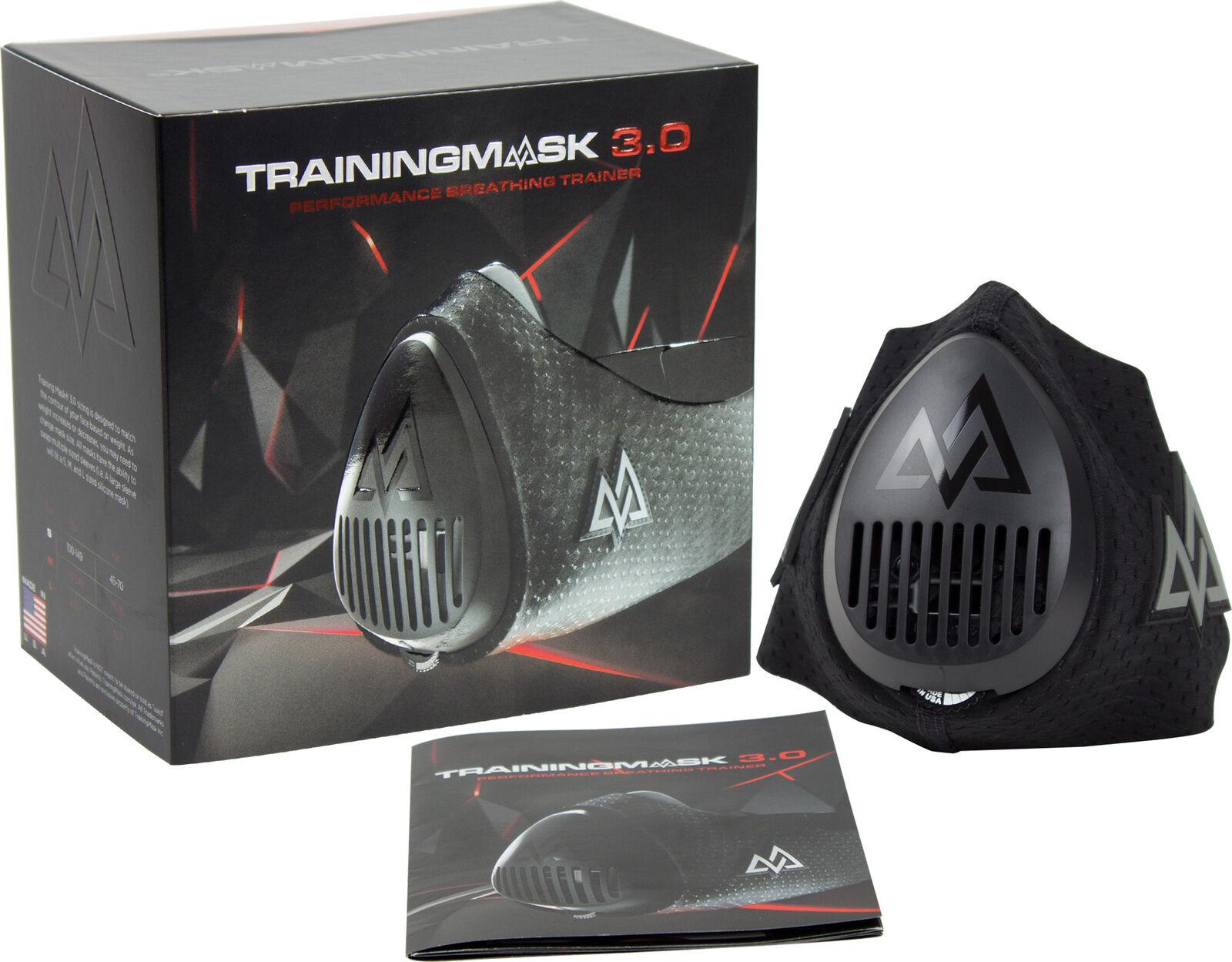 Training Training Training Mask 3.0 Lunge Stärke Turnschuhe mit Gratis Tragetasche - Schwarz  | Günstigen Preis  | Maßstab ist der Grundstein, Qualität ist Säulenbalken, Preis ist Leiter  ddc099