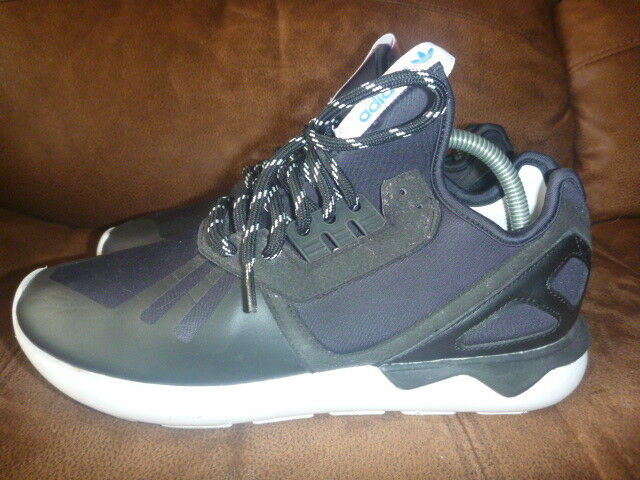 ADIDAS TUBULAR SIZE BLACK RUNNING SHOES TRAINERS RUNNERS