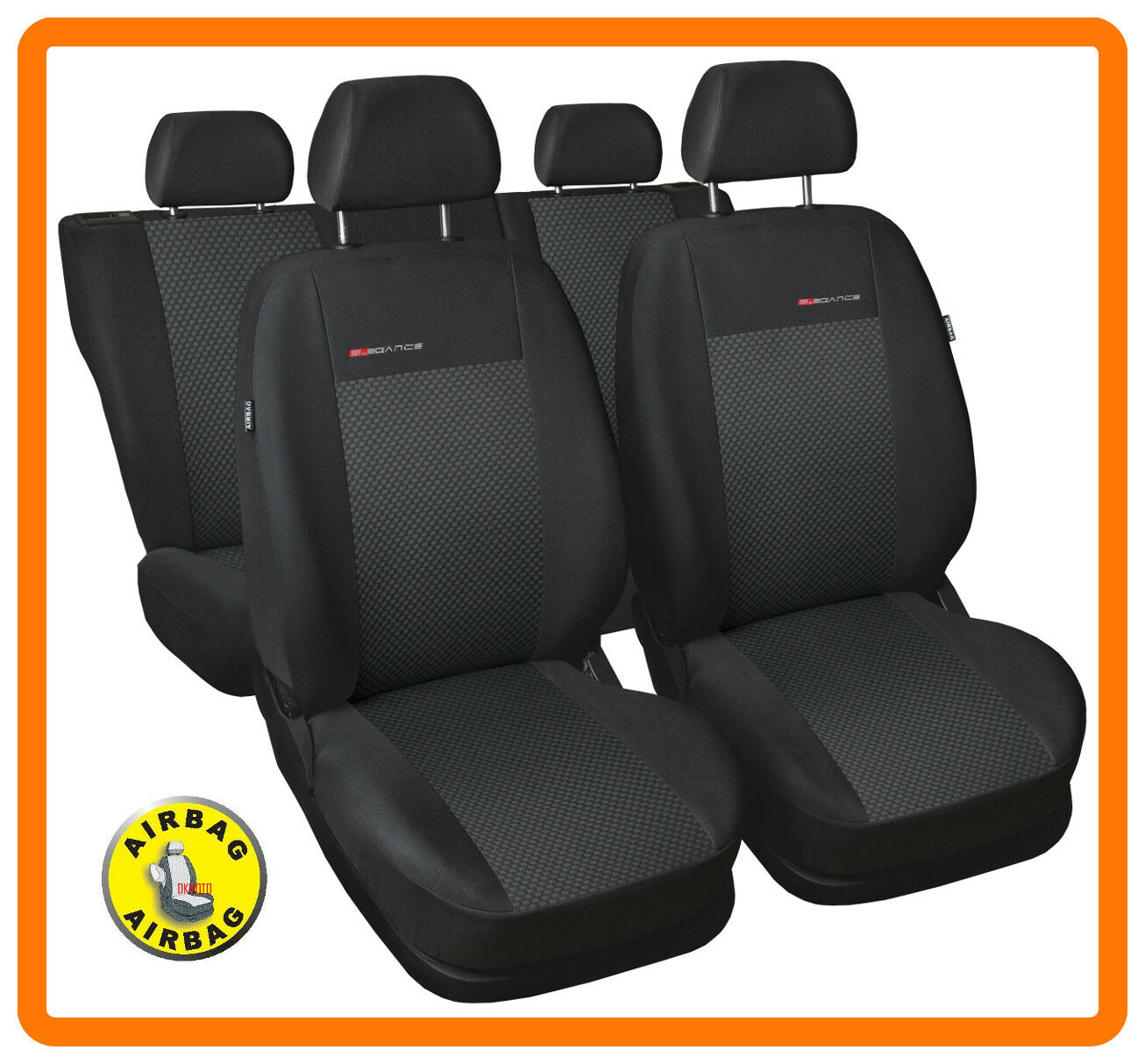 Fully tailored seat covers for CITROEN C3 PICASSO 2008 - 2017  Full set