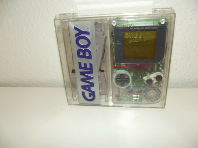 Nintendo Game Boy transparente handheld-consola de juego con caja Special Edition
