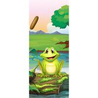 Wallpaper Door Child Frog 1728