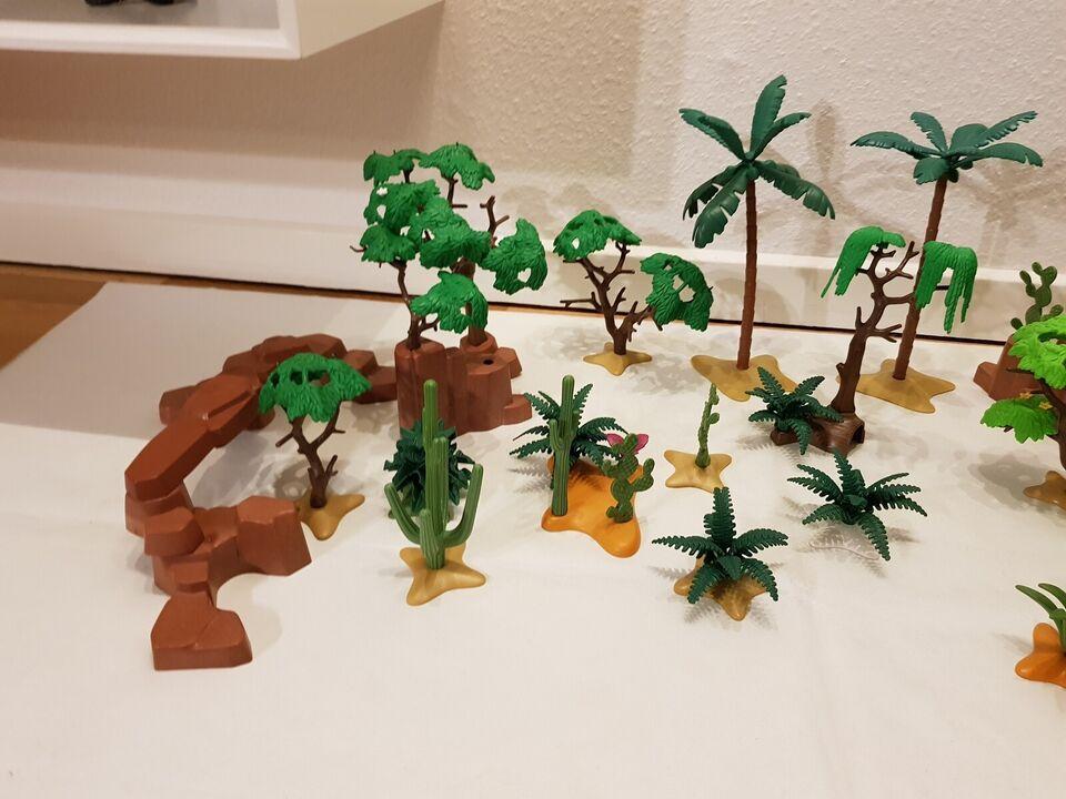 Playmobil, Playmobil Træer, buske og karkrtusser.