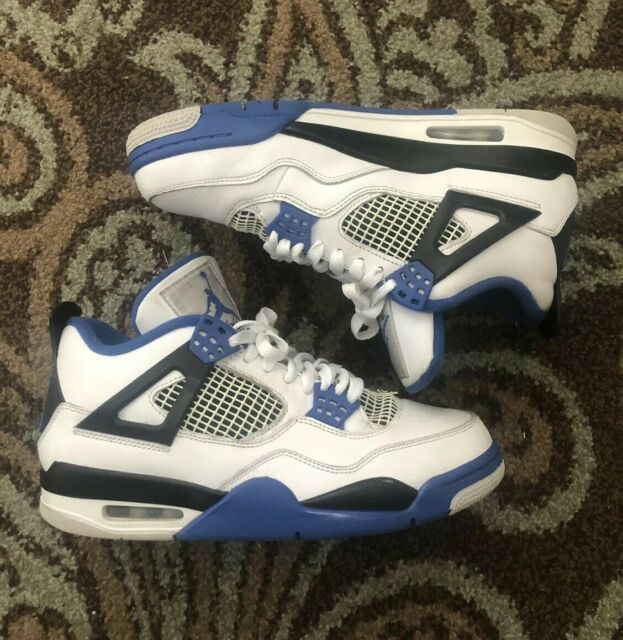 separation shoes 70f3b 7a856 Nike Air Jordan 4 Retro Motorsport 2017 Royal Blue Game Size 12 Great