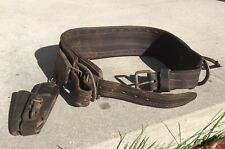 Vintage Leather Bashlin Linemens Supplies Climbing Belt Iii Cs 70h 26 Pa
