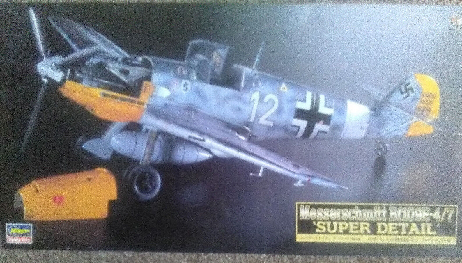 HASEGAWA 1 48 MESSESCHMITT BF109E 4 7  SUPER DETAIL (RESIN & PHOTO ETCHED PARTS)