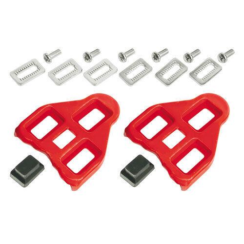 Pedalplatten für Look Delta Schuhplatten Cleats in 0° und 9°