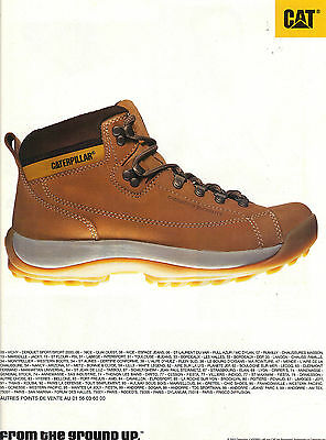 Breweriana, Beer Publicite Advertising 2003 Caterpillar Chaussures Collectibles