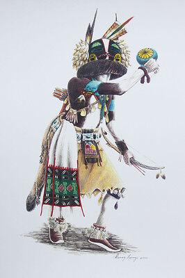 Hopi Kachina print 3 by Danny Lange Southwest art