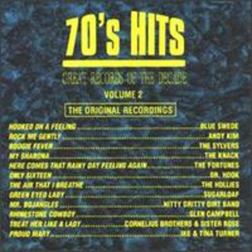 Various Artists - 70's Pop Hits 2 / Various [New CD] Manufactured On Demand
