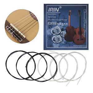 pack of 6pcs classical guitar strings nylon strings c103 e b g d a e string set ebay. Black Bedroom Furniture Sets. Home Design Ideas
