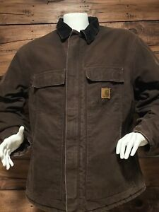 Carhartt Mens Jacket Size 2XL Reg. Brown.