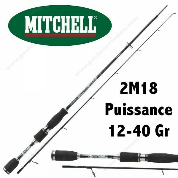 CANNE LEURRE CARNASSIER MITCHELL MAG PRO ADVANCED 732 H