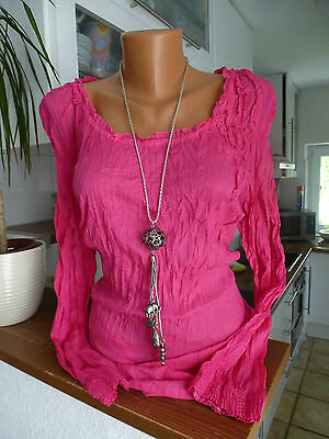 Sheego Crash Bluse Tunika Gr. 40 - 56 Magenta NEU