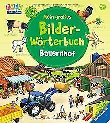 Mein-grosses-Bilder-Woerterbuch-Bauernhof-von-Prusse-Dan-Buch-Zustand-gut