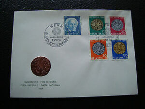 Switzerland-Envelope-1er-Day-1-6-1964-cy72-Switzerland