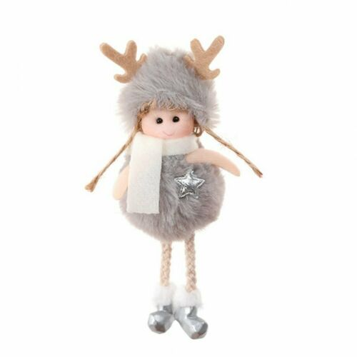 2020 Christmas Angel Plush Doll Pendant Xmas Tree Hanging Party Decor Ornaments