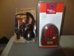 Lot-of-2-Kitchen-Tools-Kitchen-timer-and-Wine-preserver