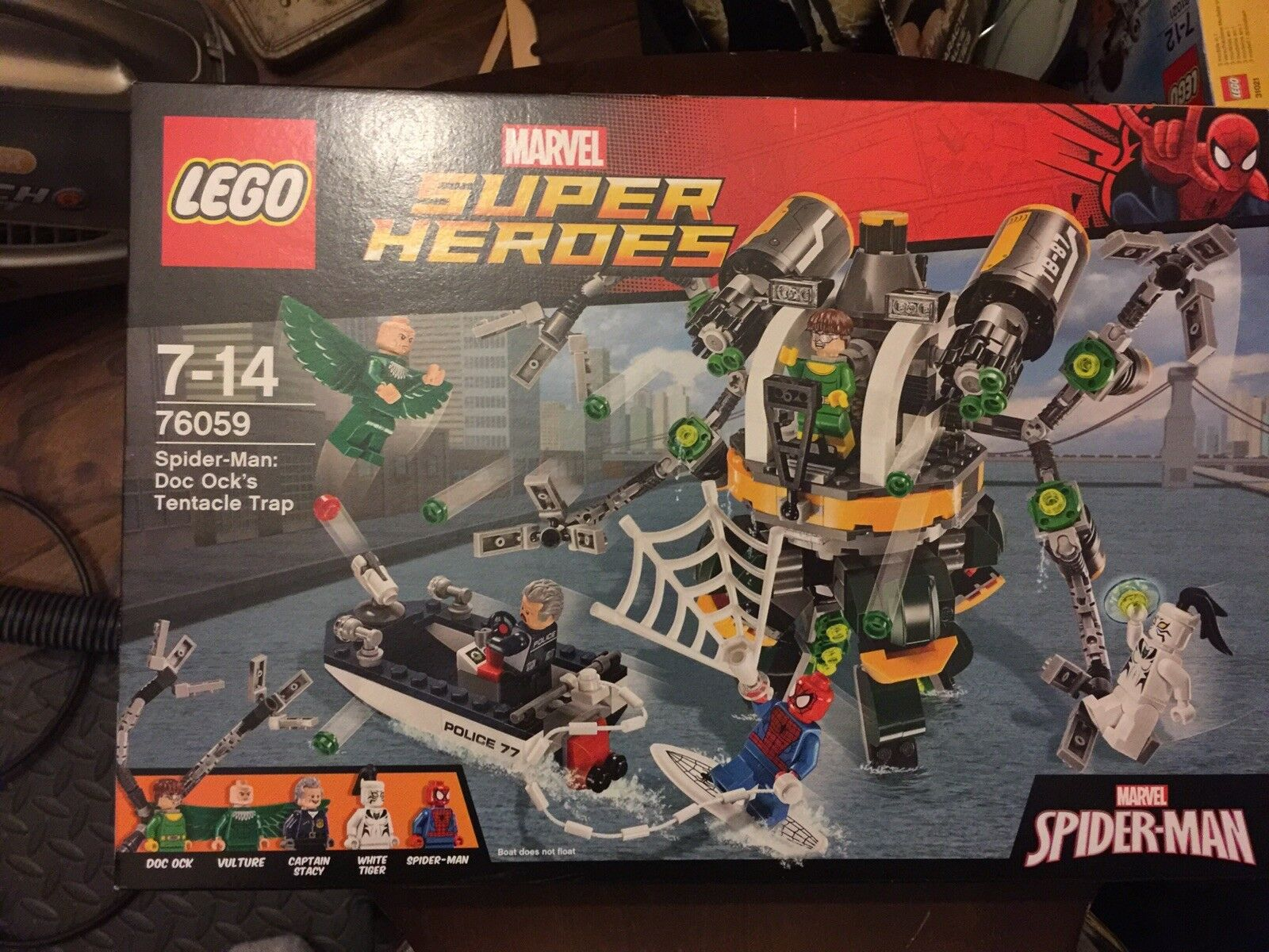 Lego 76059 Spider-Man Doc Ock's Tentacle Trap NEW MINT SEALED Retirot Set