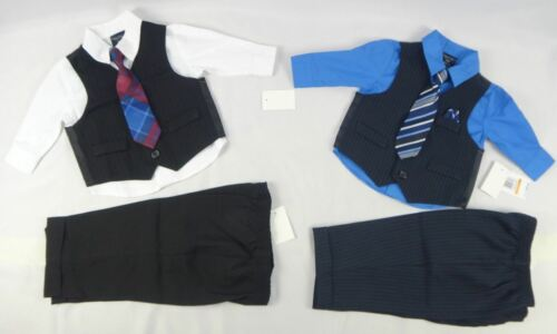 12,18 Nautica Baby Boys 4-Piece Formal Christening suit Set 24 months