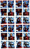 4 Sheets Iron Man 2 Scrapbook Stickers Avengers