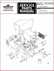Miller 30a spool gun parts diagram