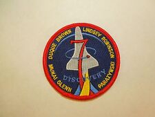 NASA Space Shuttle Mission STS-95 Discovery Astronauts Embroidered Iron On Patch