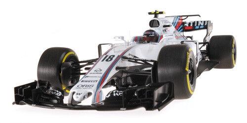 Minichamps 117170018 1/18 2017 Williams RACING FW40 LANCE Passeggiata Australia GP