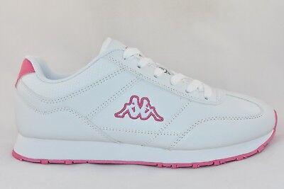 Womens Kappa Zione White/Pink Trainers